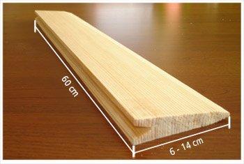 gonty drewniane